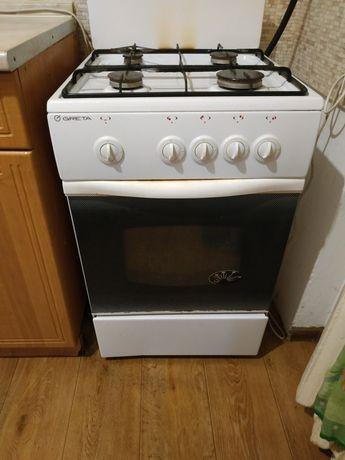 Кухня з газ плитою