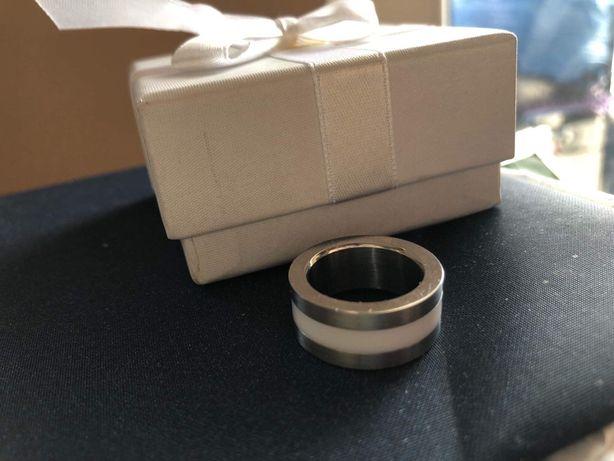 Pierścionek Firetti stal wymienne kolorowe wkłady nowy