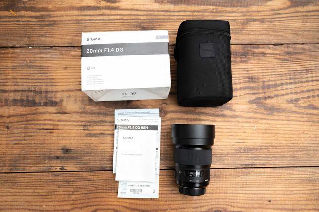 Obiektyw Sigma 20 mm f/1.4 DG HSM ART Nikon F