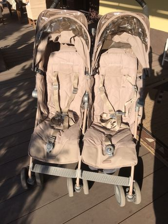 Продам коляску для двойни Maclaren twin
