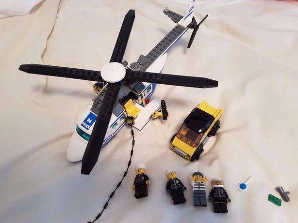 Lego kg City 3658 Helikopter policyjny i samochód