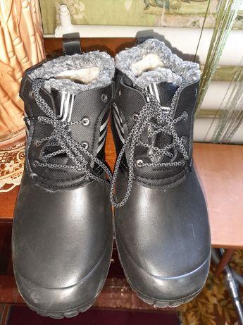 Мужские резиновые сапоги-ботинки
