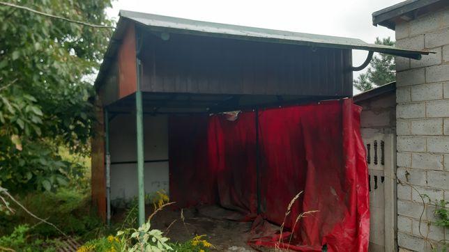 Garaż- wiata blaszak