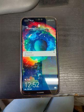 Huawei p20 lite pęknięta szybka