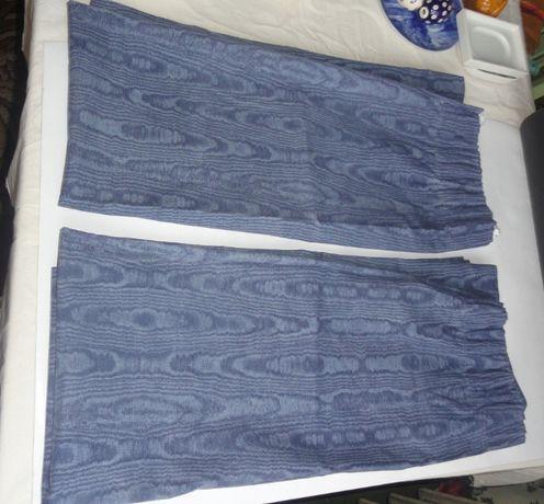 Zasłony 2 szt 117 x 133cm kol jeans