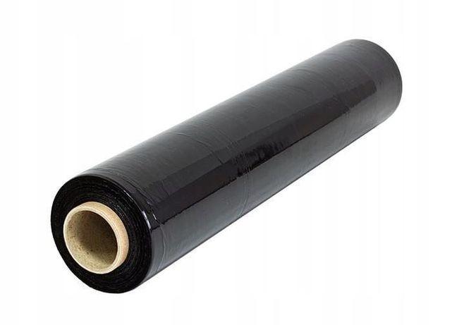 folia stretch czarna wrocław 17 mic tańszy zamiennik 3kg folii 23 mic