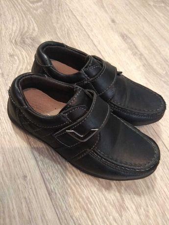 Кожаные туфли мокасины для мальчика Би джи B&G в идеале 17,5 см