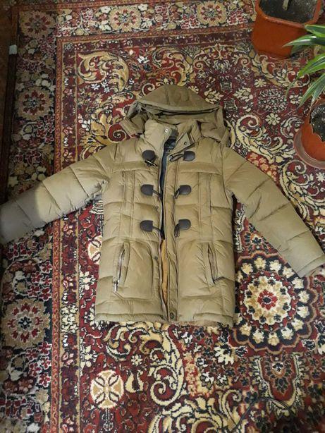 Парка зимняя подросток куртка зима подростковая на мальчика