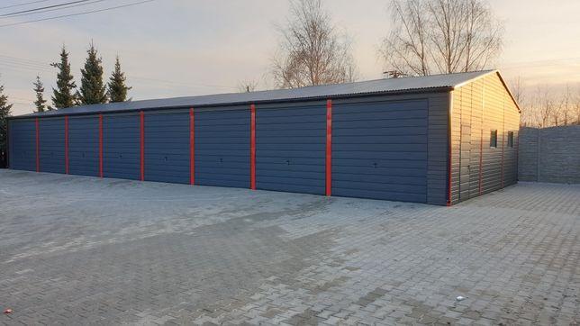 Garaze wiaty magazyny