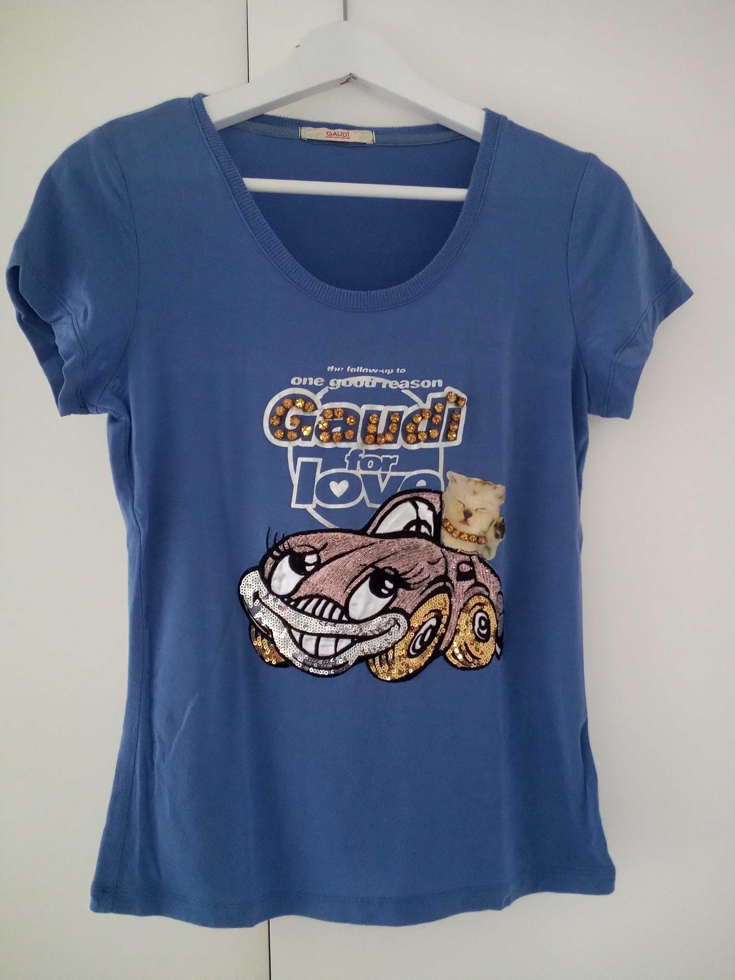 T-shirt original da Gaudí tamanho M