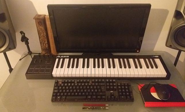 LER DESCRIÇÃO - Teclado MIDI USB - ALESIS V49