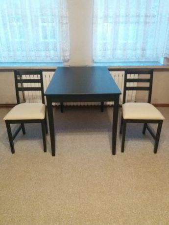 Stół i 2 krzesła STAN IDEALNY