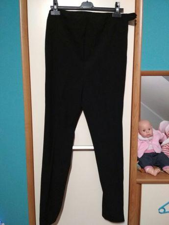 Eleganckie czarne spodnie ciążowe 36 S