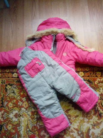Продам дитячий комплект штани та куртка зимовий