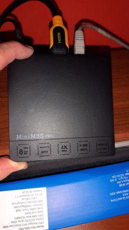 Android TV BOX Mini  M8S Pro !