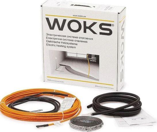 Электрический теплый пол кабель WOKS-17 190 ВТ 12,5М ДВУХЖИЛЬНЫЙ