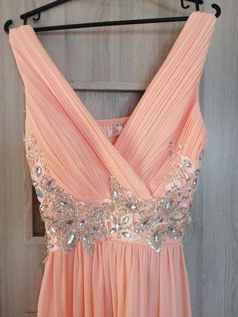 Sukienka suknia maxi długa