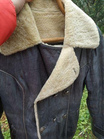 Курточка женская теплая двухсторонний