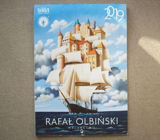 Kalendarz 2019, Rafał Olbiński, stary, używany.