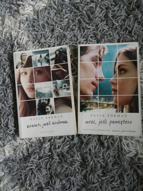 """Książki """"Zostań, jeśli pamiętasz"""" i """"Wróć, jeśli pamiętasz"""""""