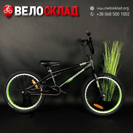 "Велосипед BMX 20"" Crossride Cro-Mo 2021 Wtp Gt Kink Radio Fit"