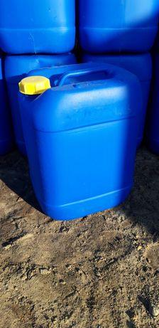 Banka kanister 20 litrów sk8 bezbarwne niebieskie zółte czerwone
