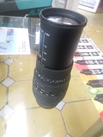 Objektyw SIGMA AF 70 - 300 DG MACRO do Minolta
