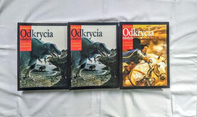 Encyklopedia Odkrycia Młodych - G.Larousse nr 1-100+GRATIS 11 NUMERÓW