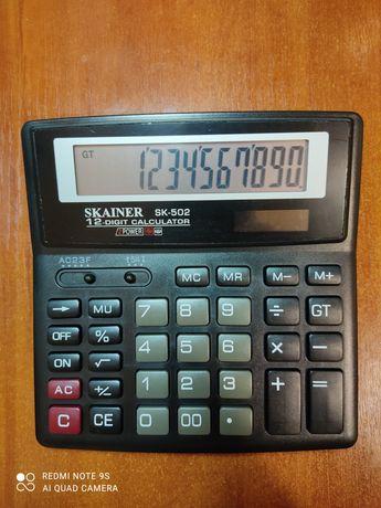 Калькулятор 12 разр SKAINER SK-502