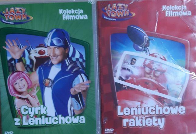 Lazy Town - Leniuchowo - 2 filmy DVD - nowe