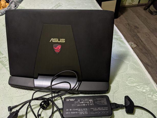 Asus G751jm + сенсорный экран + SSD 256 + RAM 24