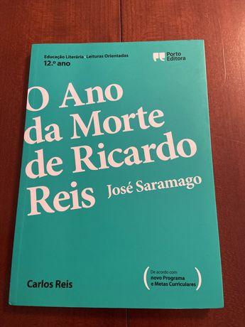 Leitura Orientada Ano da Morte de Ricardo Reis