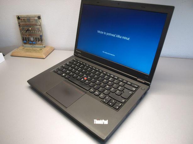 Lenovo ThinkPad T440 i5-4300M 8GB SSD 240GB HD+ FV23% Gwaracja 12 msc