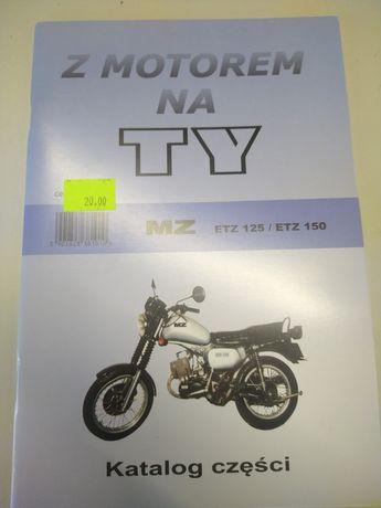 Książka katalog MZ etz 125 etz 150