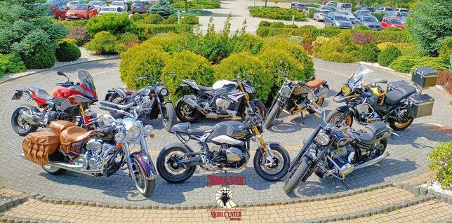 Wynajem NOWYCH motocykli BMW oraz INDIAN! Bez limitu kilometrów!