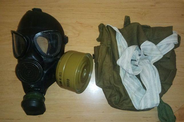 Лицевая маска противогаза ПМК-1