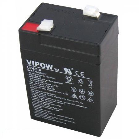 Акумулятор гелевий 6V 4.5Ah BAT0200 Lechpol