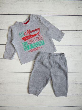 Костюм для мальчика 0-3 месяцев. 56-62 рост. кофта-реглан и штаны.