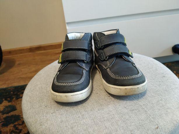 Buty dziecięce półbuty wiosenne dziecięce buty skórzane rozmiar 23
