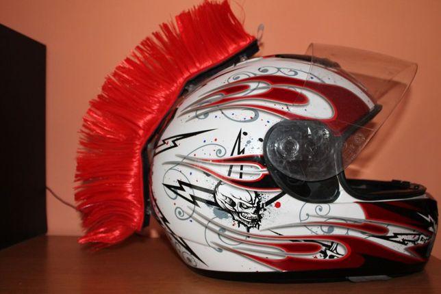 Irokez na kask motocyklowy