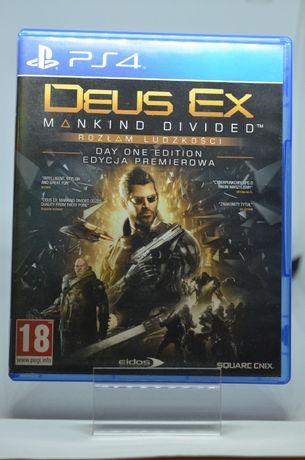 Gra na PS4 Deus Es Mankind Divided PL Lombard Tarnów