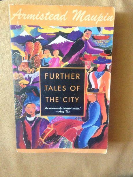 "Armistead Maupin ""Further tales of the city"", книга на английском"
