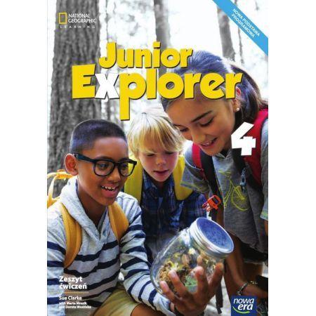 Junior Explorer klasa 4 - zeszyt ćwiczeń, wyd. Nowa Era
