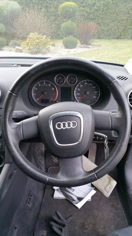 KIEROWNICA Sline +poduszka Audi A3 8P lift A4 B7 B8 A6 C6 A5 Q7 A8 D3