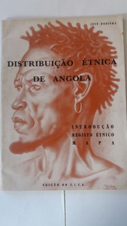 Distribuição Étnica de ANGOLA. - 1962 - Redinha. (José)