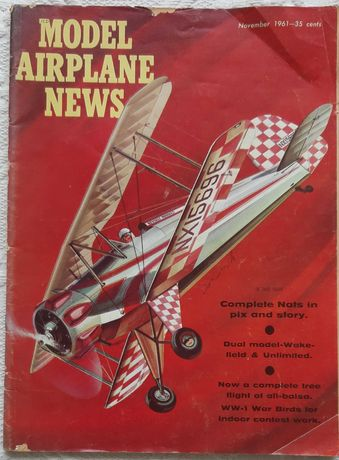 Revista de Modelismo ano de 1961