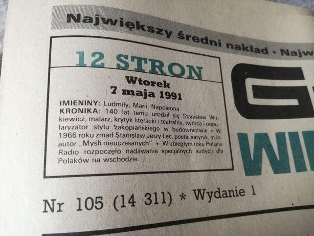 Gazeta Głos Wielkopolski 1991