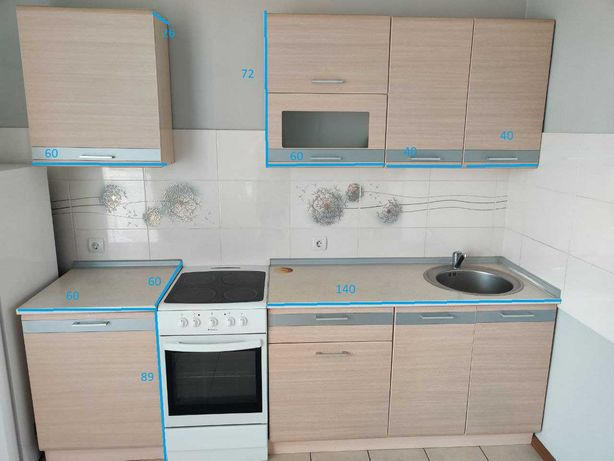 Кухонные шкафчики + раковина и столешница
