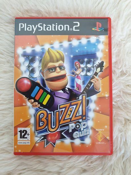Buzz! BUZZ Polska wersja językowa.  Łódź Pop Muzyczny Hollywood Quiz