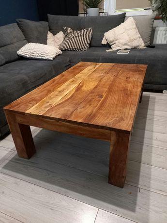 Stół stolik drewniany dąb